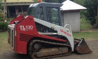 2008 Takeuchi TL130 Tracked Skid Steer Loader 1