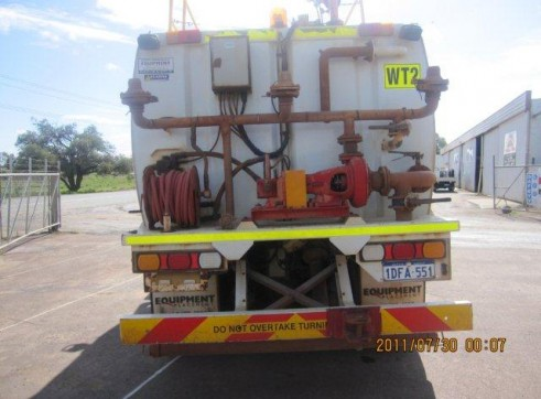 2009 15,000L ISUZU F Series + Map Water Truck