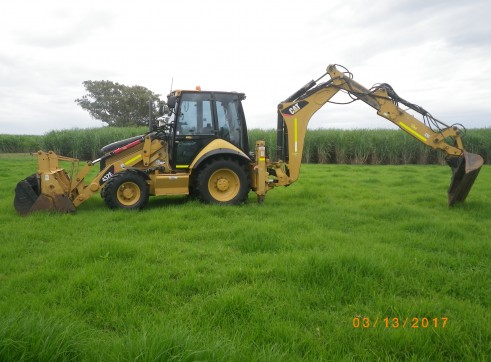 2009 CAT 423E Backhoe Loader 1