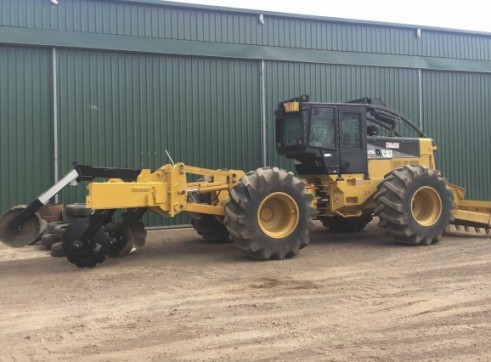 200HP Cat 525C Skidder 3