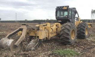 200HP Cat 525C Skidder 1