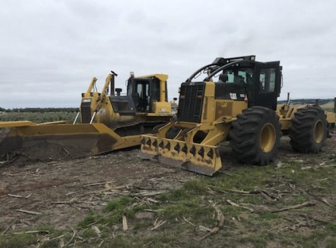 200HP Cat 525C Skidder 4