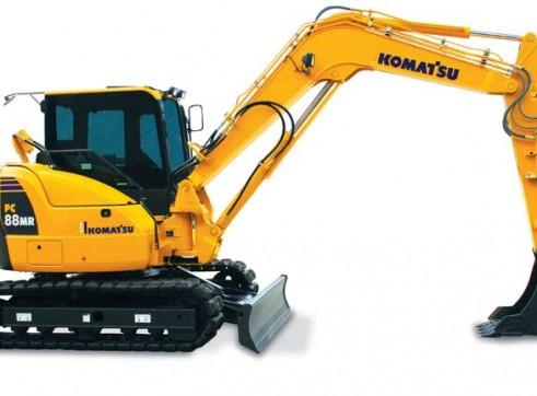 2010 8.8t KOMATSU PC88MR-8 Excavator