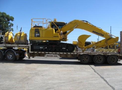 2011 16t KOMATSU PC160LC-8 Excavator