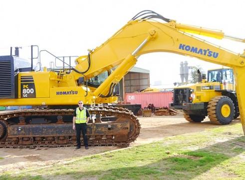 2011 80t KOMATSU PC800LC-8 Excavator