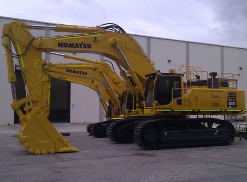 2011 86t KOMATSU  PC850_8EO Excavator
