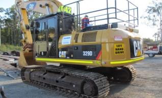 2011 Cat 329DL Excavator 1