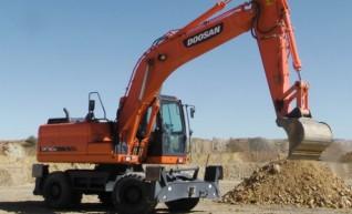 2011 Doosan DX190W Wheeled 19T Excavator AVAILABLE NOW 1