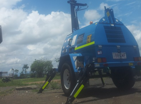 2011 - Promac 7500w Mine Spec Lighting Tower - 6 Available 2