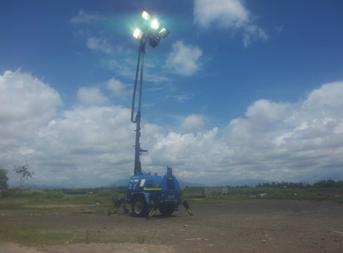 2011 - Promac 7500w Mine Spec Lighting Tower - 6 Available 1