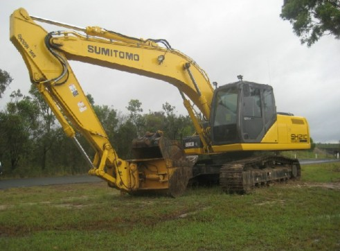 2011 Sumitomo SH210 21 Ton EXCAVATOR  1