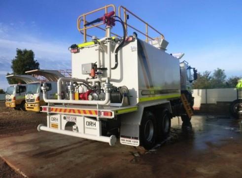 2012 20,000L IVECO Trakker 6x6 Water Truck