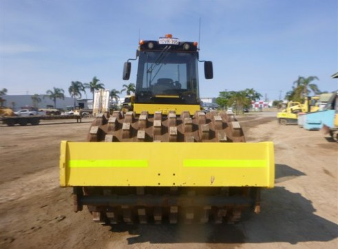 2012 20.5t BOMAG  BW219PD-4 Pad Foot Vibe Roller