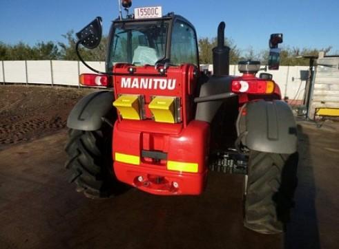 2012 3t MANITAOU MT732 Telehandler