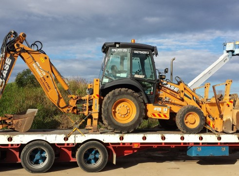 2012 CASE 590ST Backhoe  2