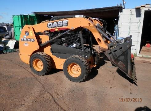 2012 Case SR250 Skid Steer Loader  1
