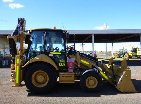2012 CAT 432E Backhoe 1
