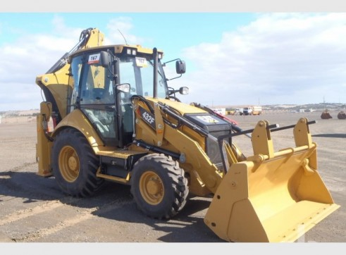 2012 CAT 432F Backhoe 1