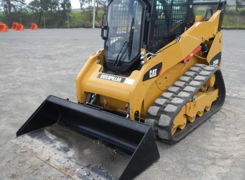 2012 CATERPILLAR 259B-3 Track Skid Steer