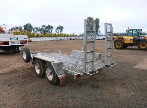 2012 COASTAL MACHINERY PT45 Plant Trailer