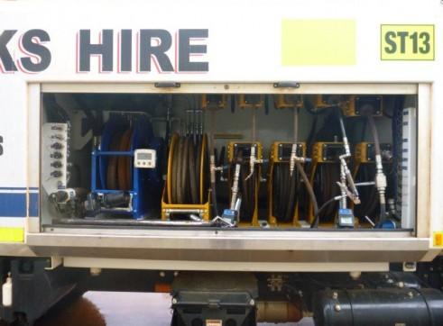 2012 HINO 500 + 11600S Service Truck