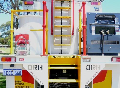 2012 HINO 500 + 14,000L Diesel Fuel Truck 1
