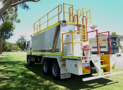 2012 HINO 500 + 14,000L Diesel Fuel Truck 2
