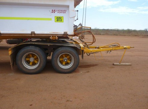 2012 HOWARD PORTER TRI AXLE DOLLY