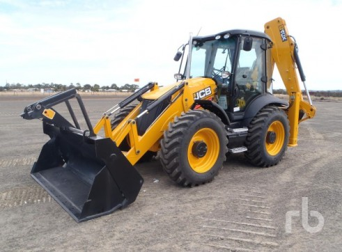 2012 JCB 4CX-4WS ECO Backhoe 1