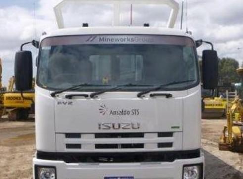 2013 11m^3 ISUZU FVZ1400 Tipper Truck