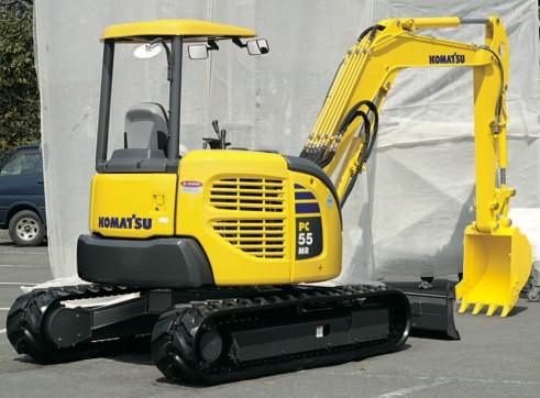 2013 5.5t KOMATSU PC55MR-3 Mini Excavator