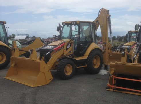 2013 brand new CATERPILLAR 432F BACKHOES 1