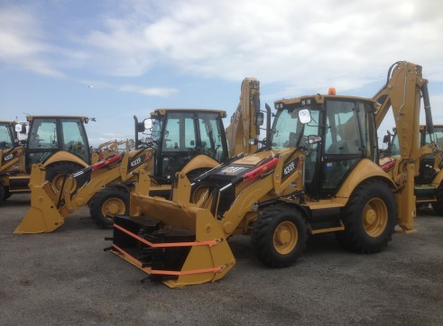2013 brand new CATERPILLAR 432F BACKHOES 3