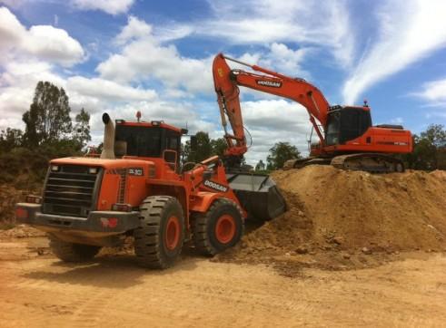 2013 Doosan DX255LC 25t Excavator