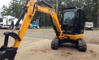 2014 JCB 8045 4.5T Excavator 1