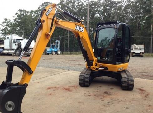 2014 JCB 8045 4.5T Excavator
