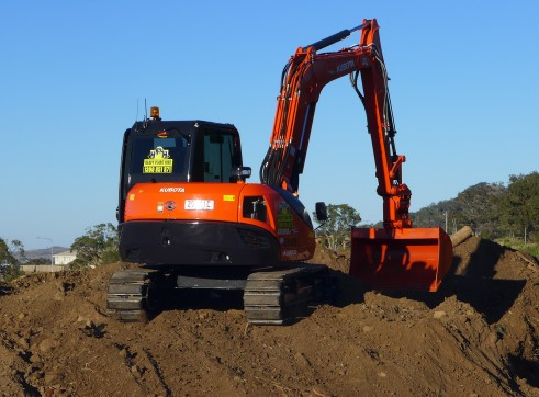 2014 Kubota KX080-3 Excavator (Tilt Hitch)