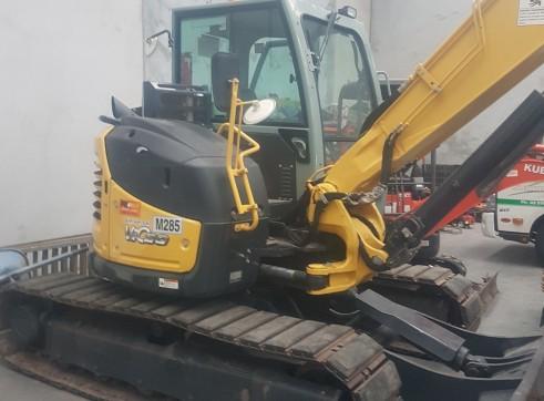 2014 Yanmar V1080 excavator 1