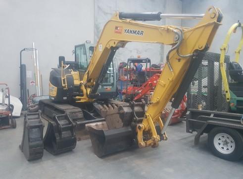 2014 Yanmar V1080 excavator 3