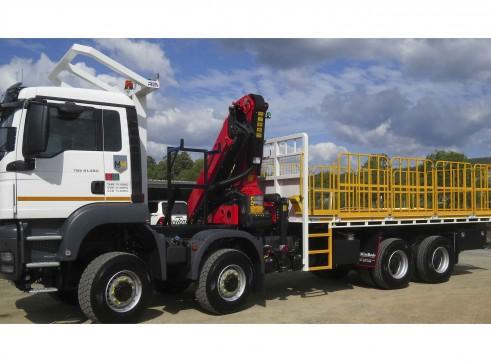 2020 MAN TGS 41-480 Crane Truck 1