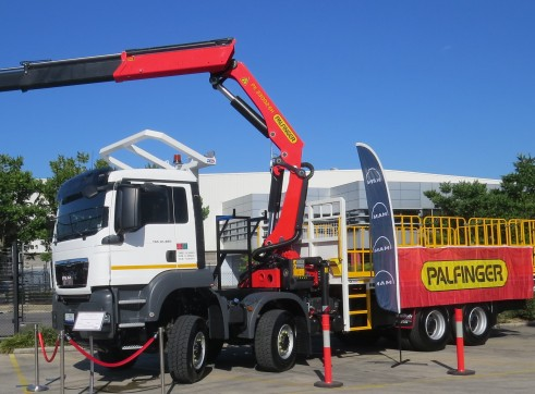 2020 MAN TGS 41-480 Crane Truck 3