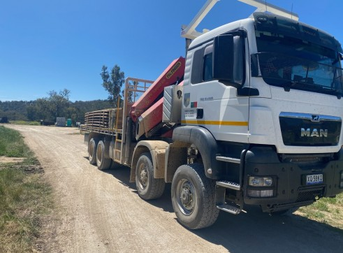 8x8 Crane Truck 1