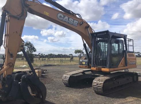 20T Case CX210 Excavator 1
