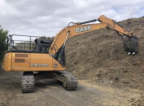 20T Case CX210 Excavator 2