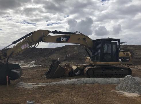 20T Caterpillar 320D Excavator 1