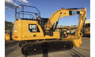 20T Caterpillar Next Gen Excavator - Integrated Trimble GPS 1