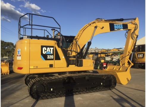 20T Caterpillar Next Gen Excavator - Integrated Trimble GPS