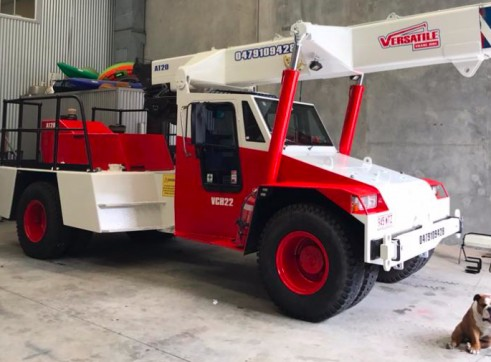 20T Franna Pick and Carry Crane 1