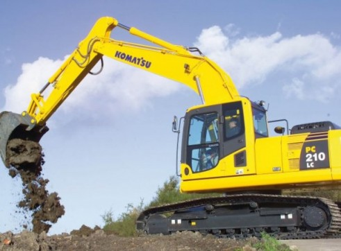 20T Komatsu Excavator