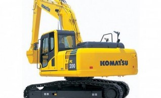 20T Komatsu PC200LC-8 Excavator 1